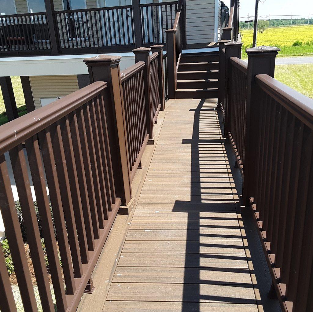 New Orleans deck builder