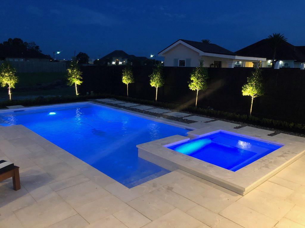 custom swimming pool builder New Orleans